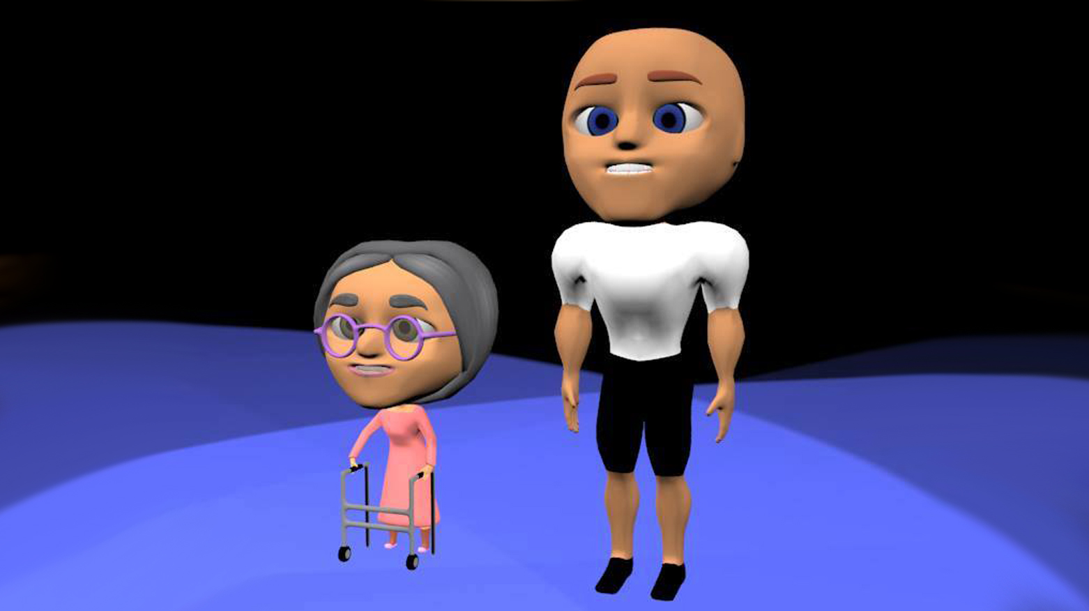 3d chibi characters